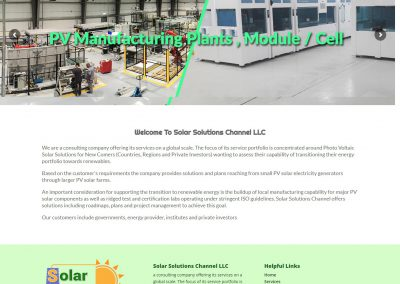 Solar Solutions Channel